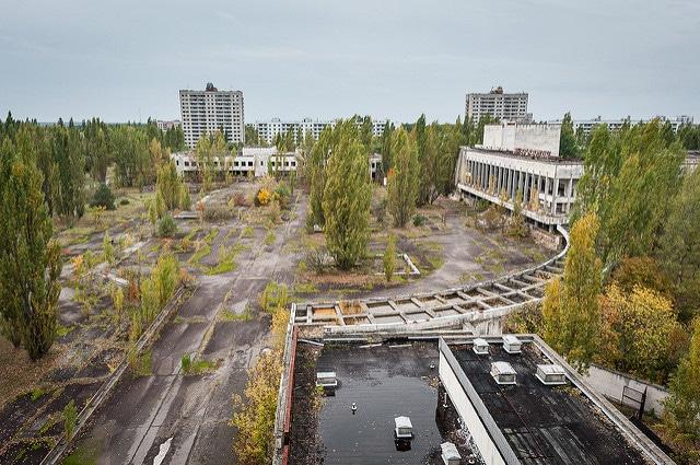Tchernobyl lenin square