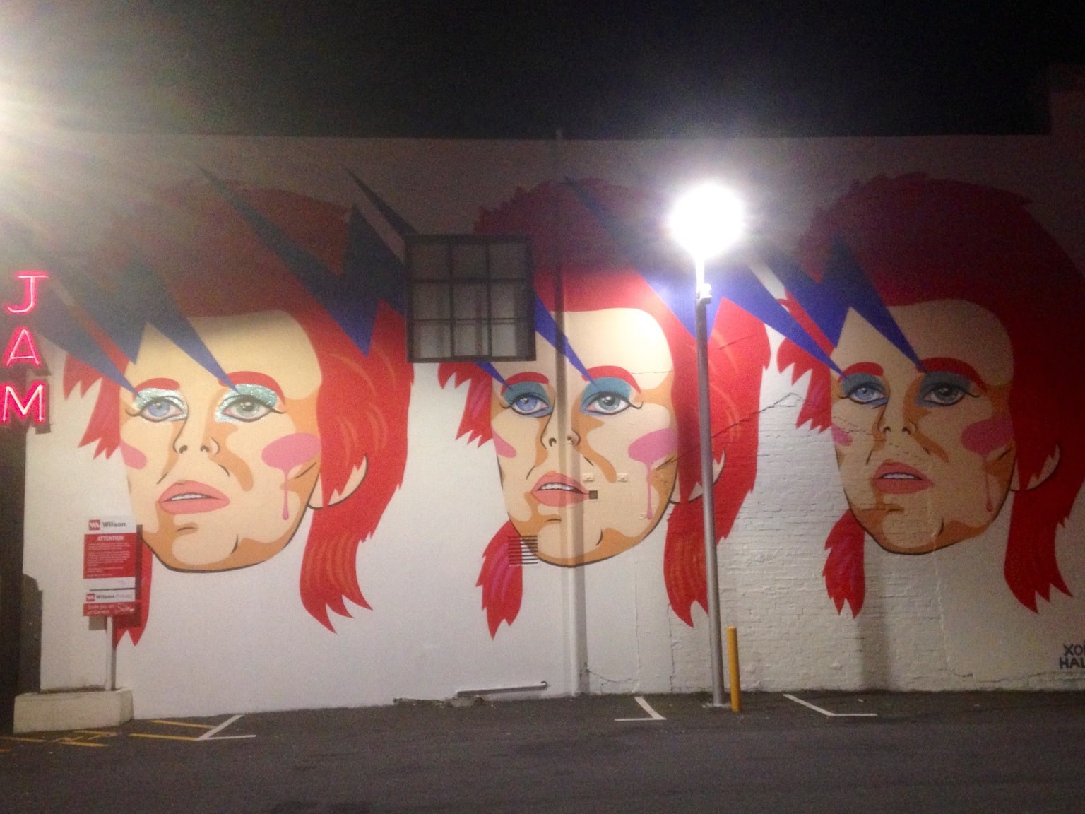 david bowie street art