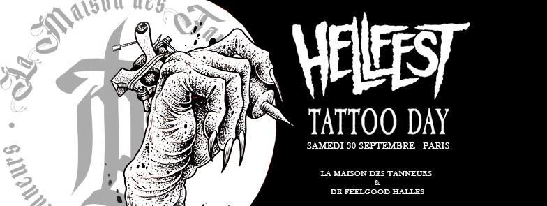 Hellfest tattoo day