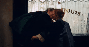 Phantom Thread Kiss
