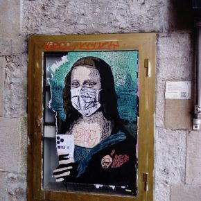 street art barcelona mars 2020