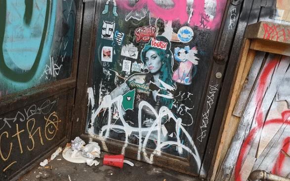 street art amy winehouse